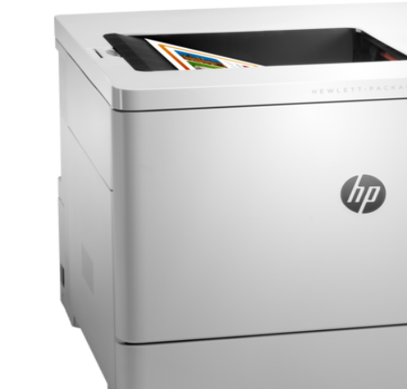 hp M553n printer installation