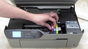 replace ink cartridge